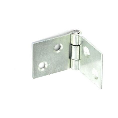 Securit S4381 Backflap Hinges Zinc Plated 25mm Pack Of 1 Pr