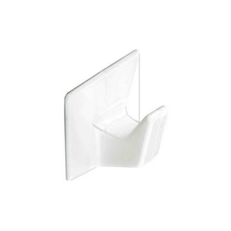 Securit S6352 Self Adhesive Hooks White Medium Pack Of 3