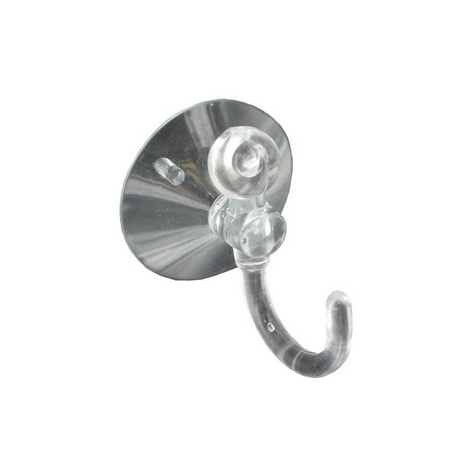 Securit S6367 Suction Hook Clear 25mm Pack Of 3