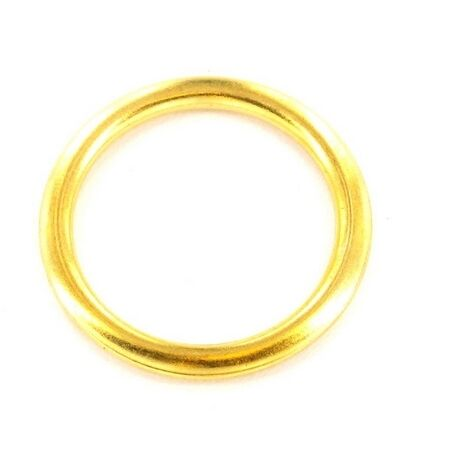 Securit S6424 Curtain Rings Brass 20mm Pack Of 18