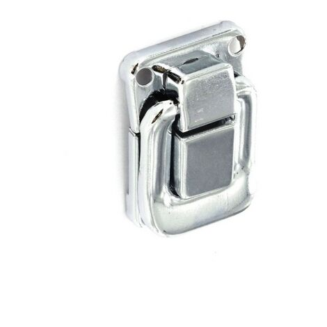 Securit S6601 Case Clips Nickel Plated 40mm Pack Of 2