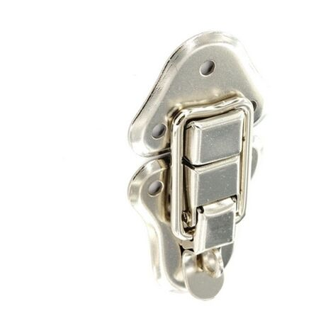 Securit S6603 Case Clips With Padlock Loop Nickel Plated 95mm Pack Of 1