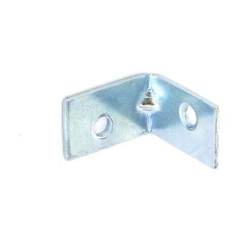 pack of 4 zinc plated Corner plate flat corner brace fixing L bracket 50x50mm