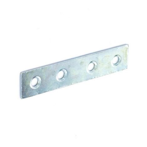 Securit S6725 Mending Plate Zinc Plated 75mm Pack Of 2