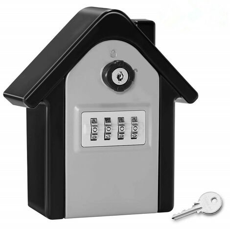 SECURITED CLE WALL BOX WEED BOX WITH DIGITAL CODE & EMERGENCY KEYS, GRAND KEY SAFE BOX FIGURTLY KEY TRAIN FOR HOUSE, OFFICE, FACTORY, GARAGES