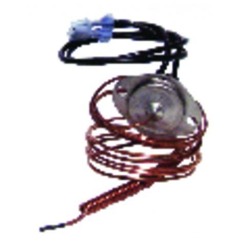Security aquastat with bulb - THERM.O.DISC. Type 10H.G14 - 110deg - AOSMITH : 0071587002