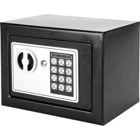 Security Home Safe Safebox Secure Storage Box With Keypad And Key Lock 23x17x17cm