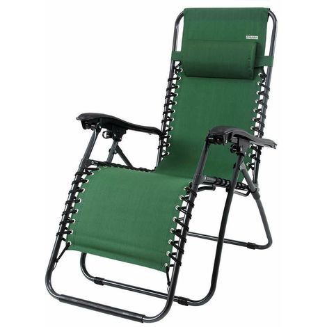 Sedie Sdraio Alluminio Con Poggiapiedi.Sedia A Sdraio In Alluminio Con Schienale Alto E Poggiapiedi