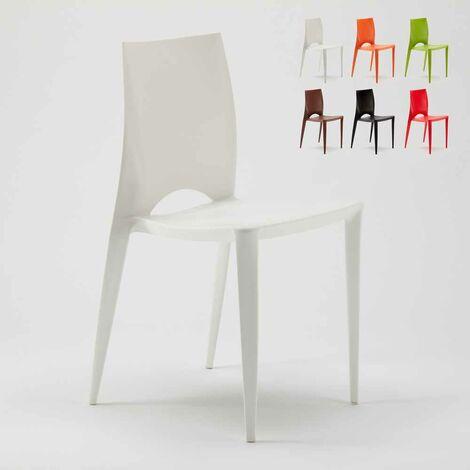 Sedia Colorata Design Moderno Cucina Bar esterni ed interni ...