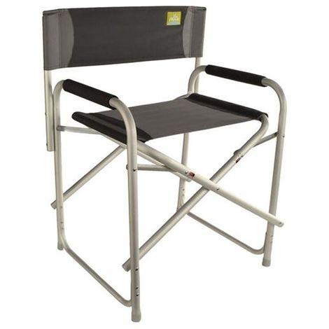 Sedie Da Campeggio Pieghevoli.Sedia Da Campeggio Pieghevole In Alluminio 80 Kg Regista Camper Spiaggia