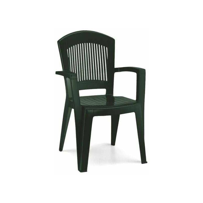 Poltrona Resina Superelegant Verde 1901 - Scab