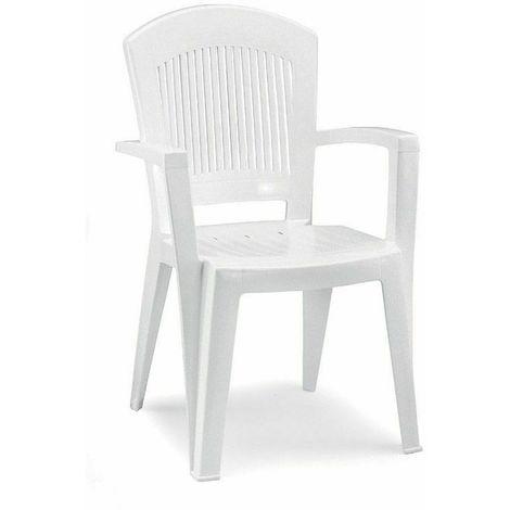 Sedie In Resina Colorate.Sedia Da Esterno Giardino Resina Impilabile Poltrona Super Elegant