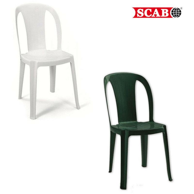 Sedie Per Esterno Plastica.Sedie Da Esterno Sedia Stella Plastica Polipropilene Bianco Senza