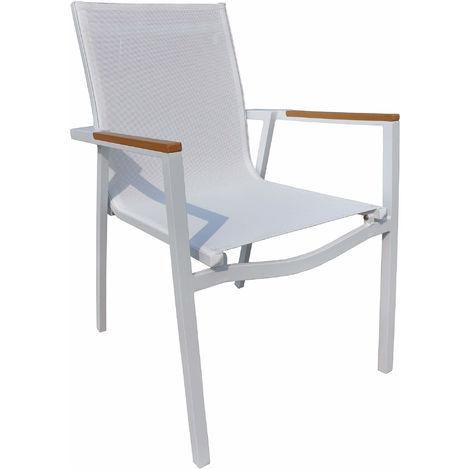 Sedie Da Giardino Bianche.Sedie Bianche Alluminio Giardino Al Miglior Prezzo
