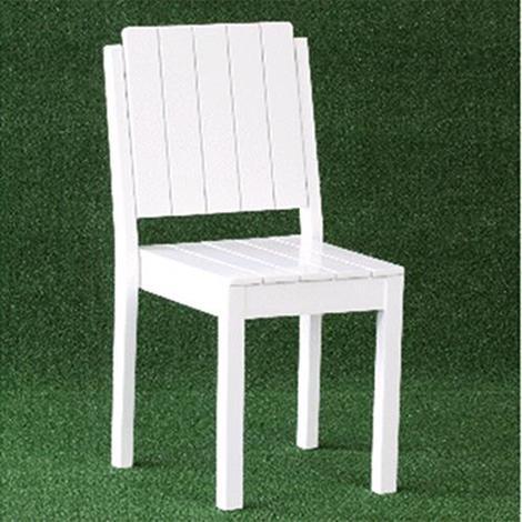 Sedie Da Esterno Legno.Sedia Da Giardino In Legno Acacia Cm 46x46x90 Modern Colore