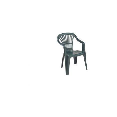 Sedie Da Giardino In Plastica Verdi.Sedia Da Giardino In Plastica Impilabile Scilla Verde Ipae Progarden