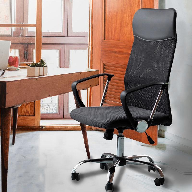 Sedia da scrivania ergonomica e confortevole con altezza ...