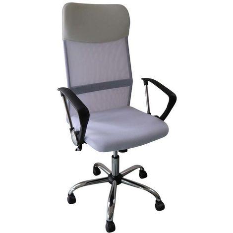 Sedia da ufficio con rotelle TINO - Bianco - 1138_85744