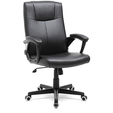 Sedia da ufficio girevole con copertura pu resistente all for Stock arredo ufficio