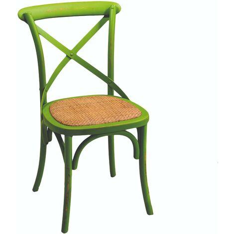 Sedie Legno Antiche.Sedia In Legno Di Betulla 51x55h46 5 89cm Adami Verde Antico
