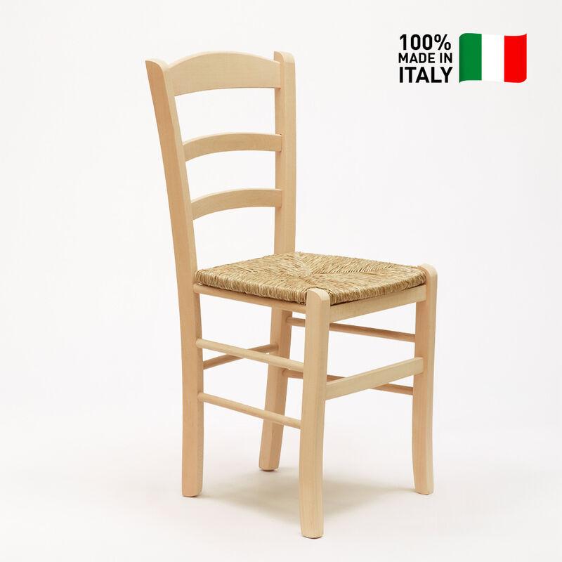 Sedie A Legno Curvo E Impagliate.Sedia In Legno E Seduta Impagliata Per Cucina Bar E Trattoria Rustica Paesana