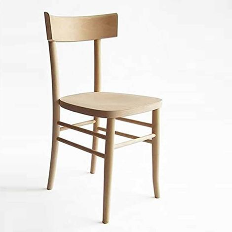 Sedie In Legno.Sedia In Legno Grezzo Da Verniciare Modello Milano Vintage Nuova Gia Montata