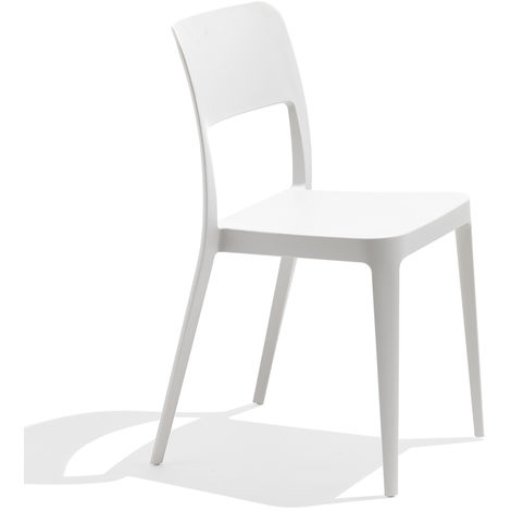 Sedia in plastica bianca - Nenè - 7NENP05000002
