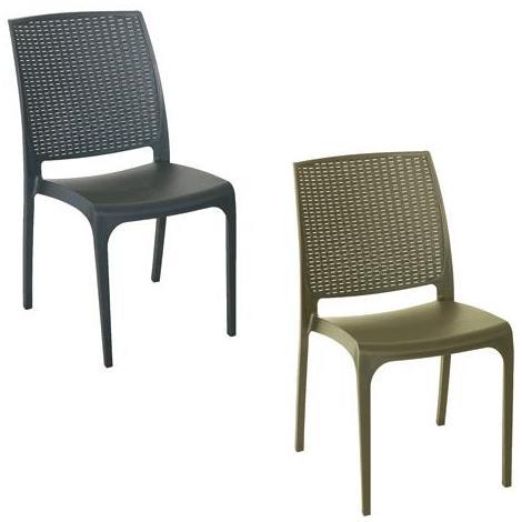 Sedie In Polipropilene Da Giardino.Sedia In Polipropilene Cross