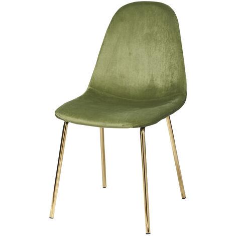 Sedia in velluto da 44X54 cm