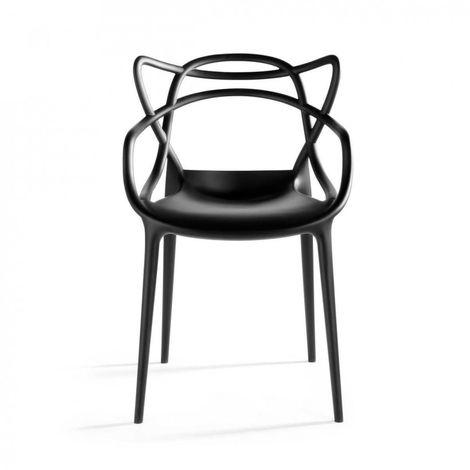 Sedia Masters Kartell Simil da ristorante eventi per Interno Design Moderno