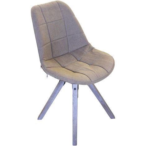Sedia moderna di design marrone per interno casa ufficio for Sedia design marrone
