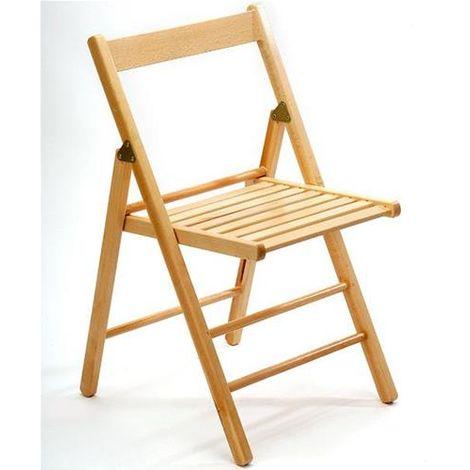 Sedie Di Legno Apri E Chiudi.Sedia Pieghevole In Legno Faggio Palmar Design Modello Rio