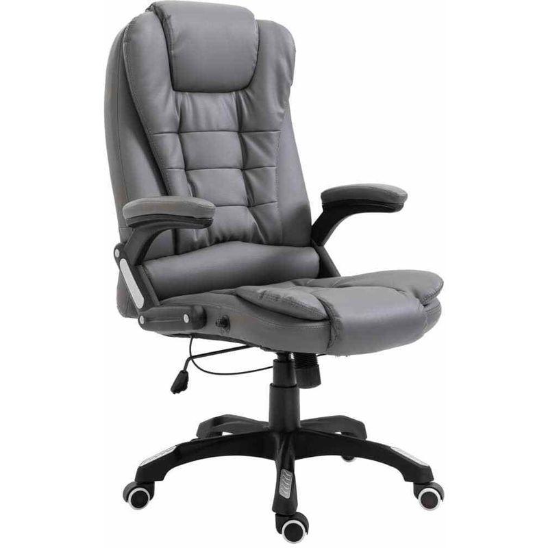 Sedia poltrona direzionale da ufficio reclinabile con ...