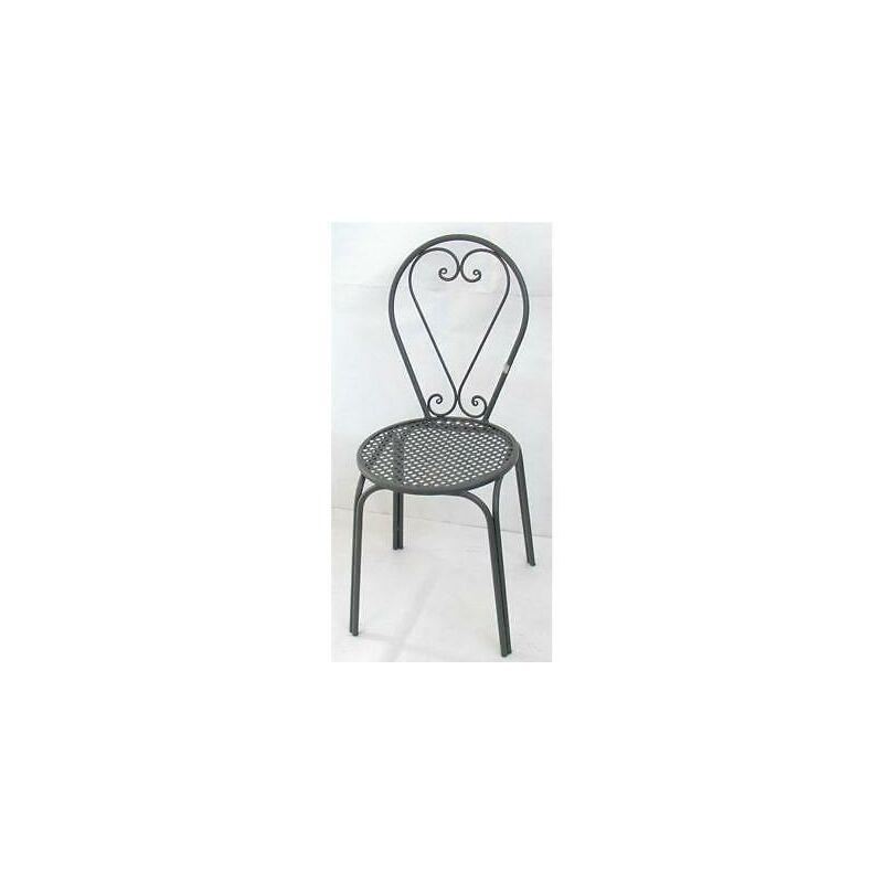 Sedia poltrona in ferro battuto friendly sedie poltrone arredo giardino esterno