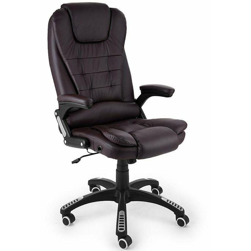 Sedia poltrona ufficio ergonomica altezza e schienale ...