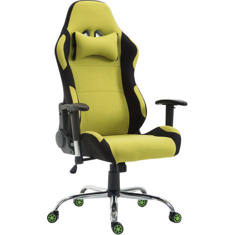 Sedia racing da ufficio rosberg in tessuto verde for Stock arredo ufficio