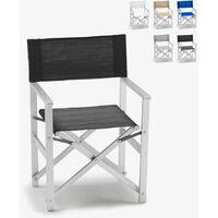 Sedia Da Regista Alluminio Robuste.Sedie Con Braccioli Da Giardino