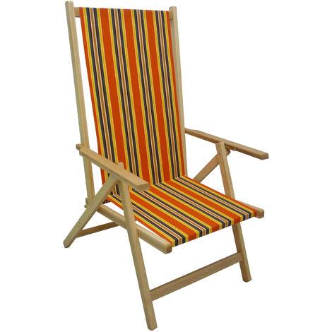 Sedia sdraio legno al miglior prezzo | Saldi fino al 30