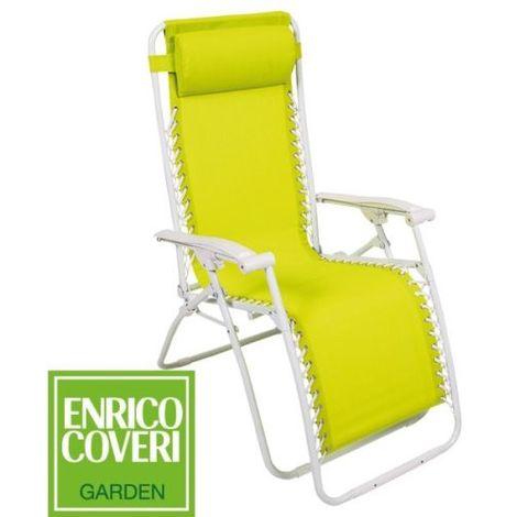 Sedia Sdraio Relax.Sedia Sdraio Relax Enrico Coveri Con Braccioli