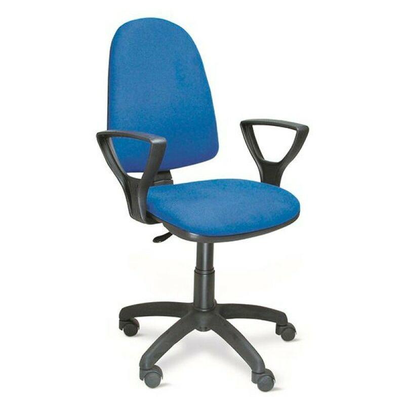 Sedia Ufficio Direzionale In Tessuto Toria Blu - toria-blu