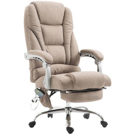Sedia ufficio massaggiante pacific in tessuto tortora for Stock arredo ufficio