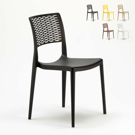 Sedie In Polipropilene Da Giardino.Sedie Da Bar In Polipropilene Per Cucina E Giardino