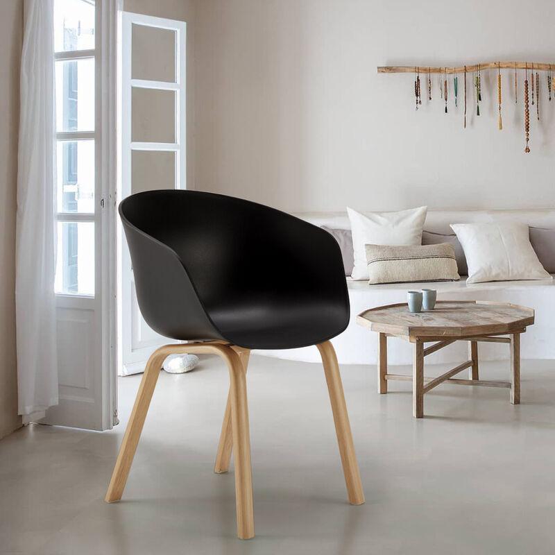 Sedie Design Scandinavo esterni ed interni giardino DEXER per Bar e ...