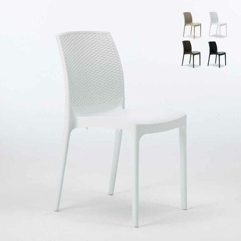 Produzione Sedie In Plastica.Sedie Plastica Poly Rattan Bar Esterni Ed Interni Giardino