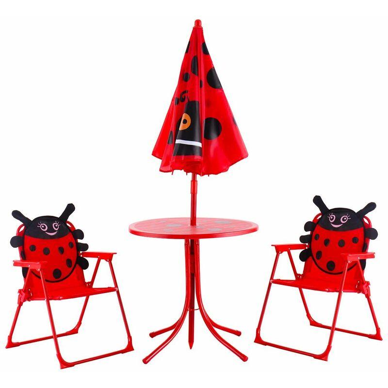 Tavoli Pieghevoli Per Bambini.Sedie Tavolo Ombrellone Pieghevole Da Giardino Per Bambini Con