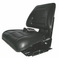 Sedile con molleggio verticale, regolabile in 5 inclinazioni, largo 480mm