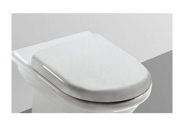 Ideal Standard Esedra Sedile.Sedile Originale Ideal Standard Esedra In Termoindurente Colore Bianco Ghiaccio I S T627700