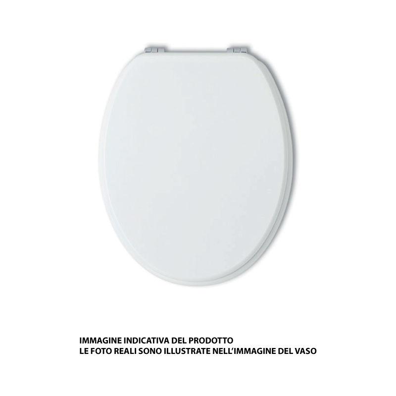 Sedile Wc Dolomite Perla.Sedile Originale Per Vaso A Terra Tenax Ceramica Dolomite
