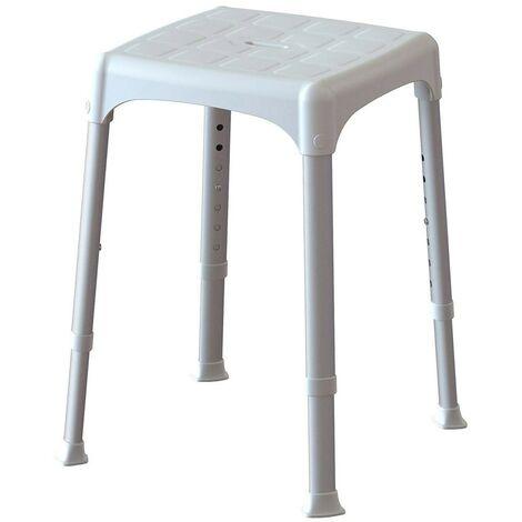 Sedile per Doccia Regolabile Vasca da Bagno Sgabello per Igiene Disabili Anziani