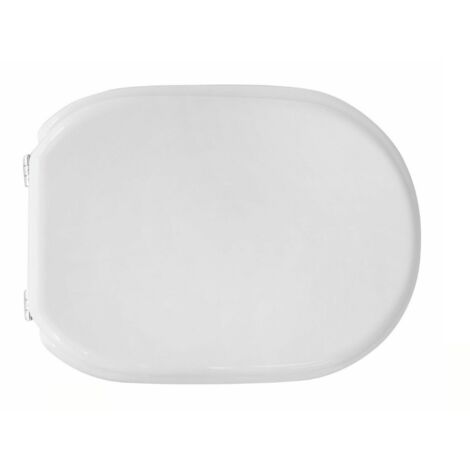 Copriwater Coprivaso Tavoletta Sedile WC per CESAME Vaso Bit Bianco